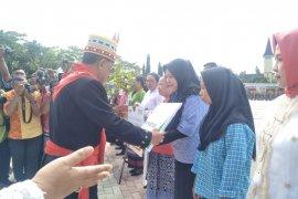 BPJS ketenagakerjaan Cabang Maluku serahkan santunan Rp140,3 juta