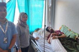 BPJS Ketenagakerjaan kunjungi korban kecelakaan kerja di Ternate