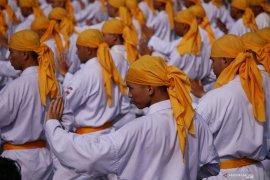 Sebanyak 5 ribu lebih karateka pecahkan rekor MURI di Banjarmasin