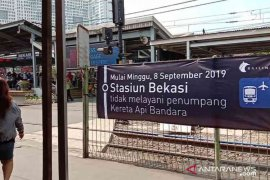 Jalur Kereta Api Bandara Soekarno Hatta dari Bekasi minta dibuka kembali