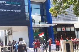 LMND di Ternate demo tolak kenaikan iuran BPJS Kesehatan