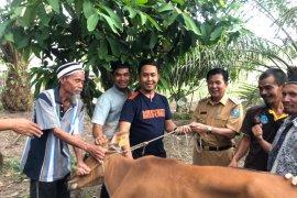 Bupati Bangka Tengah anjurkan para petani gunakan mesin pencacah