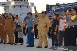 Wali Kota Sibolga Lepas Pelantara 9 Menuju Sail Nias 2019