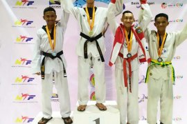 Mahasiswa Poltekpar Medan juara I nasional taekwondo