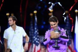 Nadal juarai US Open usai kalahkan Medvedev