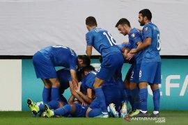 Azerbaijan raih poin pertama, tahan imbang Kroasia 1-1