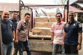 Bea Cukai dan Polres Aceh Selatan amankan rokok ilegal asal  Jateng