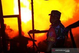 Kebakaran, dua RT di Alalak Selatan Banjarmasin hanguskan 65 rumah
