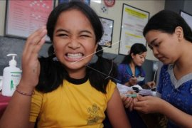 Vaksinasi kanker serviks di Denpasar
