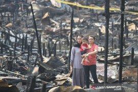 Kebakaran Hanguskan 65 Rumah Di Alalak Selatan