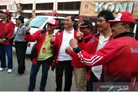 Wabup semangati tim sepakbola Buleleng di Porprov