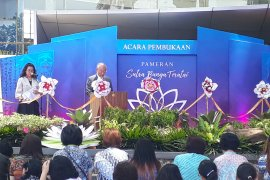 Soka Gakkai Indonesia gelar pameran Sutra Bunga Teratai di Perpustakaan UI