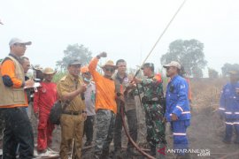 Tim Ahli BNPB Pusat ajak Satgas Karhutla bantu proses pemadaman