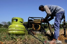 Mesin pompa air berbahan bakar gas Page 1 Small