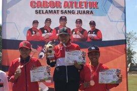Kontingen Denpasar raih tiga medali emas Lomba Lari Porprov 2019