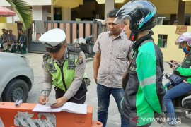 Di Medan, 5.767 kendaraan  ditilang selama Operasi Patuh Toba 2019