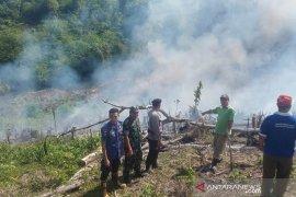 Sehari empat lahan di Rejang Lebong terbakar