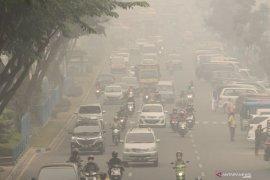 ISPU capai 123 berbahaya sekolah diliburkan hingga Minggu  di Pekanbaru