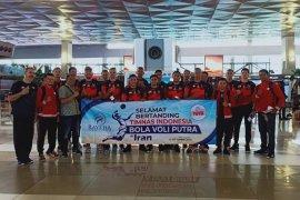 Timnas bola voli awali Kejuaraan Asia di Iran