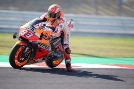 Marquez: Yamaha sangat cepat saat sesi latihan di Sirkuit Misano