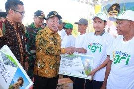 Gagal panen, petani Lamongan terima klaim asuransi Rp3,6 miliar