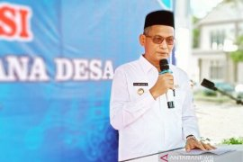 Bupati Nagan Raya ancam sanksi pejabat tidak urus sertifikat  tanah