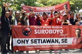 Lewat PDIP, aktivis PA GMNI kembalikan formulir bacawawali Surabaya