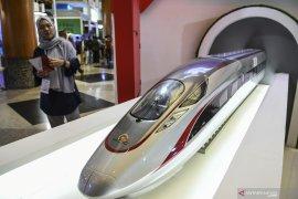 Pembebasan lahan kereta cepat Jakarta-Bandung ditargetkan rampung Januari 2020