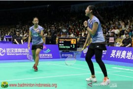 Kalahkan  unggulan kedua, Siti/Ribka ke semifinal Indonesia Masters 2019