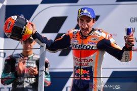 Marquez juara MotoGP San Marino, pupuskan harapan Quartararo