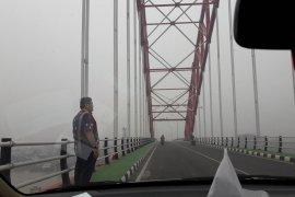 Arus lalu lintas Banjarmasin ke Marabahan terganggu kabut asap