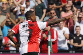 Feyenoord cetak lima gol