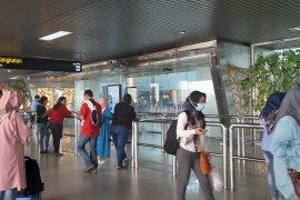 Kabut asap Kalbar, 55 penerbangan di Bandara Supadio Pontianak terdampak