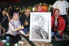Nunik dan Seniman Lampung Peduli Melakukan Kegiatan Sosial Kemanusiaan