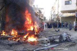Bom mobil meledak di penjara tahanan ISIS di  Suriah