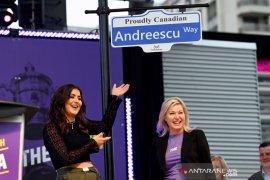 Andreescu jadi nama jalan di Mississauga Kanada