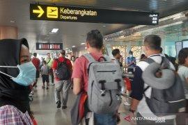 Hari ini puncak arus penumpang keluar Pontianak melalui Supadio