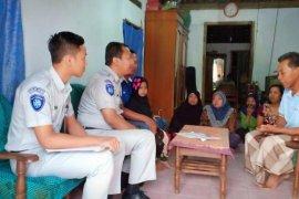 Jasa Raharja Kediri  santuni korban kecelakaan di Lampung
