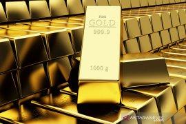 Harga emas jatuh, investor lirik aset berisiko saat ekonomi AS dibuka