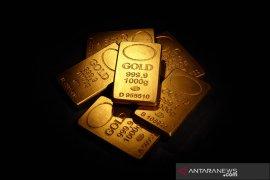 Emas turun lagi 4,5 dolar, tertekan dolar AS yang lebih kuat