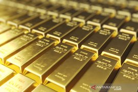 Emas berbalik melonjak 50,5 dolar AS, dipicu harapan dukungan stimulus