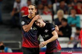 Dwigol Timo Werner bawa Leipzig menang di Benfica