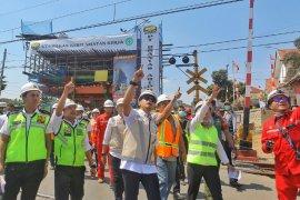 CFD jalan Sudirman ditiadakan karena ada pengerjaan Fly Over RE Martadinata
