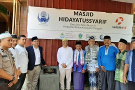 KORPRI Kota Bogor bantu bangun masjid di Donggala