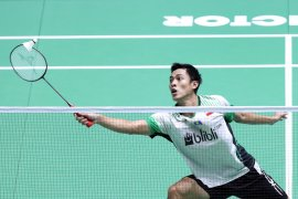 Tunggal putra Indonesia sisakan Ginting di China Open