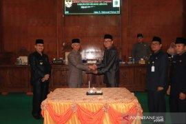 DPRD Rejang Lebong umumkan unsur pimpinan definitif