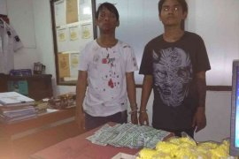 Dua pemuda dan puluhan ribu obat terlarang diamankan polisi