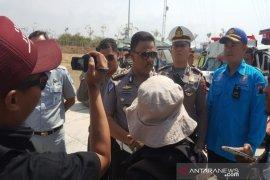 Olah TKP Polres Slawi,  kecelakaan tol Pejagan-Pemalang