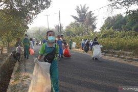 2.500 warga Bangka Barat ikut peringati hari bersih sampah se-dunia
