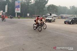 Tour de Siak etape III terpaksa dibatalkan akibat asap tebal
